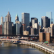 Sunny Cloudless Morning over Manhattan - VideoHive Item for Sale