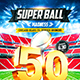 American Football Super Ball Flyer vol.1 - GraphicRiver Item for Sale