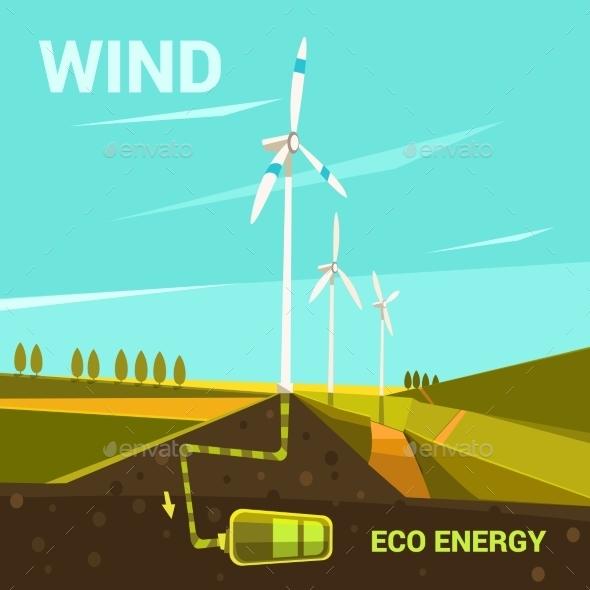 Ecological Energy Cartoon - Miscellaneous Conceptual