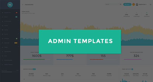 Awesome Admin Templates
