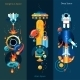 Space Banner Set - GraphicRiver Item for Sale