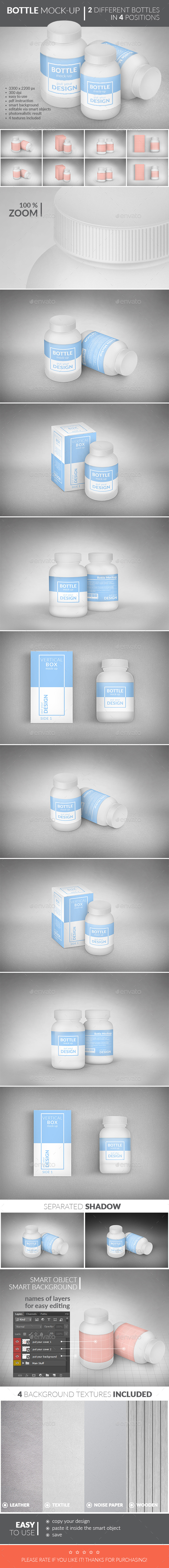 Bottle Package Mock-Up - Miscellaneous Packaging