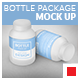 Bottle Package Mock-Up - GraphicRiver Item for Sale