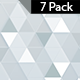 Triangle White Background-7 Pack - VideoHive Item for Sale