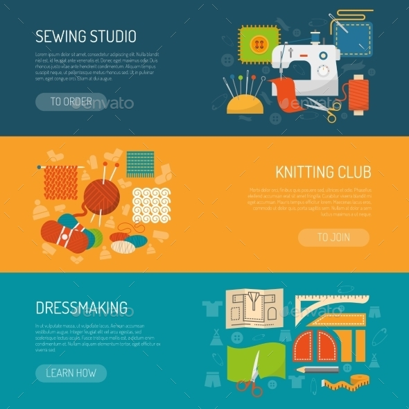 Textile Banner Set - Concepts Business