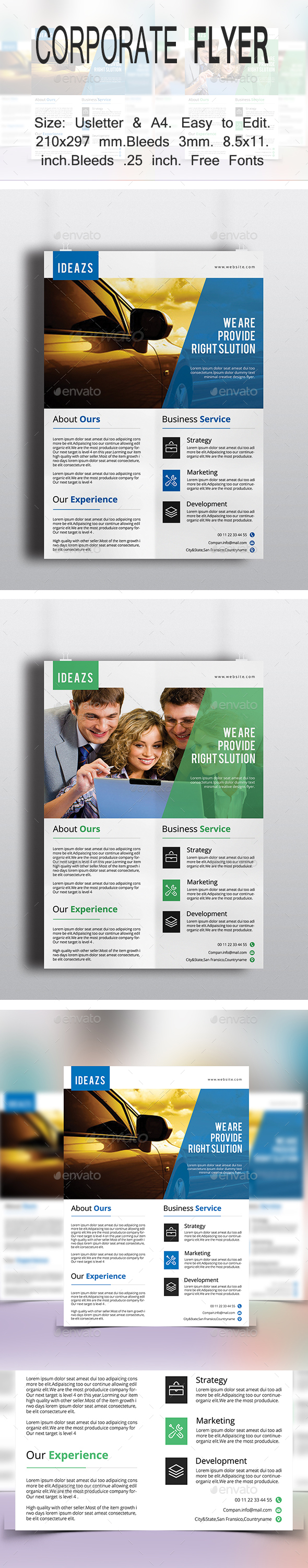 Corporate Flyer V06 - Corporate Flyers