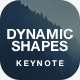 Multipurpose Keynote Template - Dynamic Shapes - GraphicRiver Item for Sale