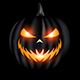Scary Halloween Ghost Logo