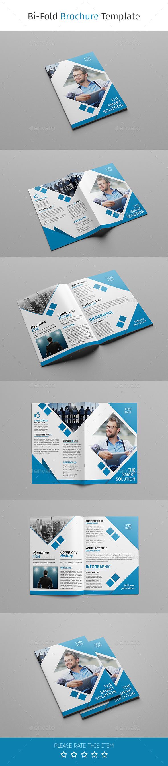 Corporate Business Bi-fold Brochure 08 - Corporate Brochures