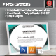 Prize Certificate - GraphicRiver Item for Sale
