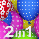 Balloons Colorful Transitions (2-Pack) - VideoHive Item for Sale