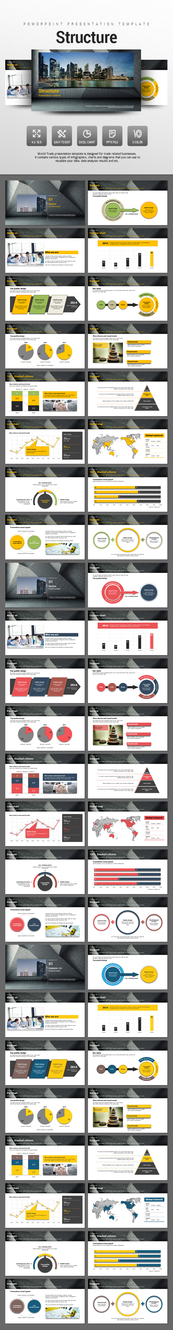 Structure  - PowerPoint Templates Presentation Templates