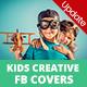 Creative Kids / Children Facebook Covers - 04 PSD