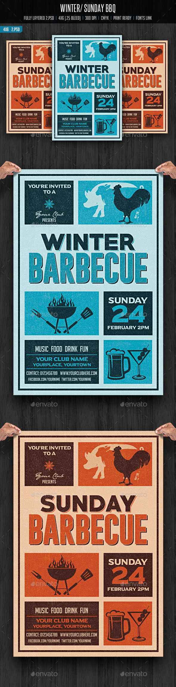 Winter/Sunday Barbecue - Clubs & Parties Events