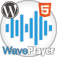 WavePlayer - WordPress Audio Player with Waveform and Playlist