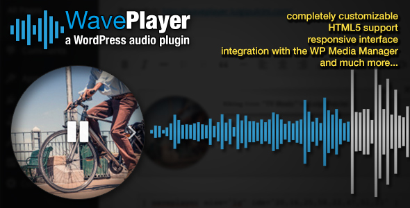 Download WavePlayer – WordPress Audio Player with Waveform and Playlist nulled
