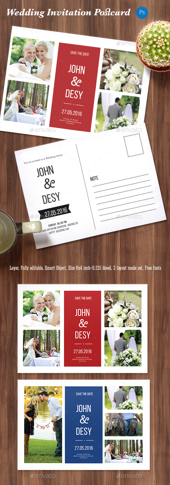 Simpel Wedding Invitation - Weddings Cards & Invites