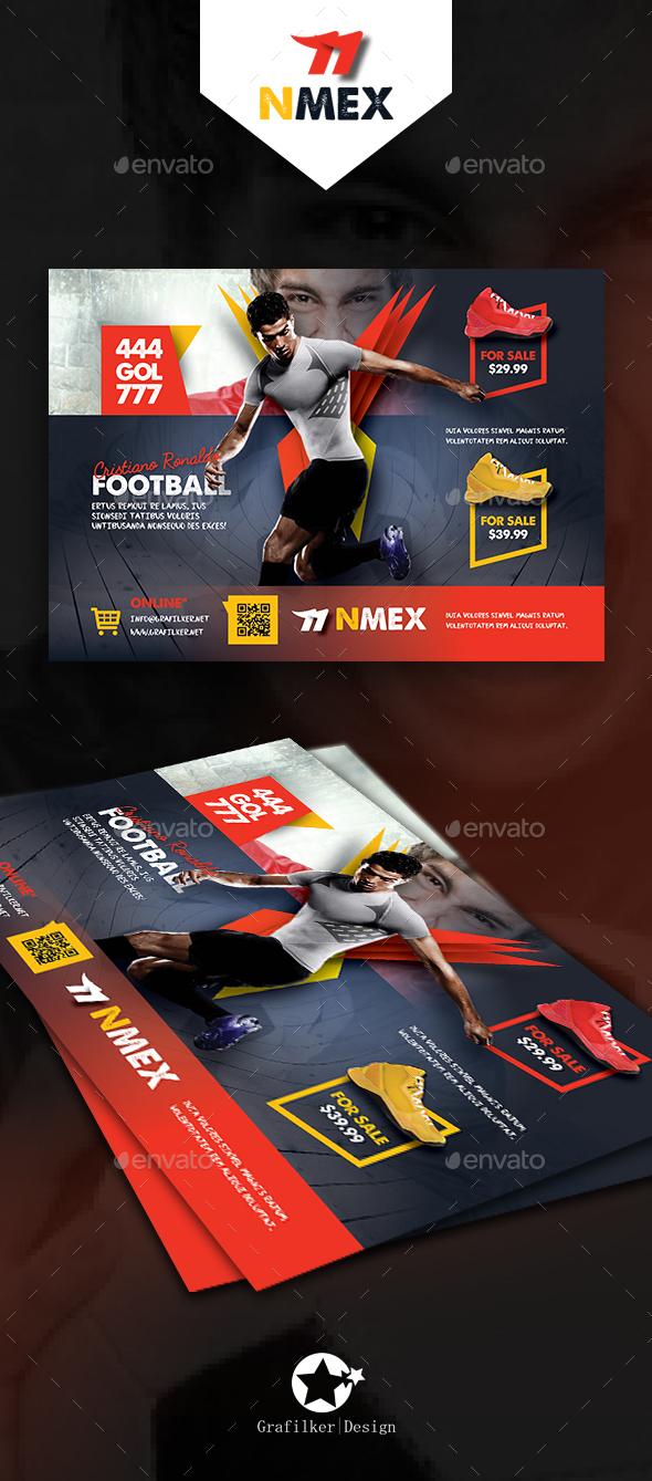 Sport Shop Flyer Templates - Corporate Flyers
