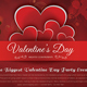 Valentine Day Party Flyer v2 - GraphicRiver Item for Sale