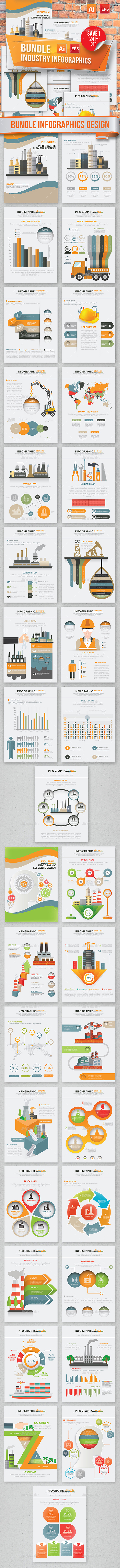 Bundle Industry Infographics Design - Infographics