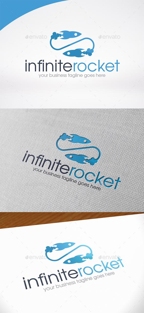 Infinity Rocket Logo Template - Symbols Logo Templates
