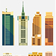 NY Buildings City Set - GraphicRiver Item for Sale