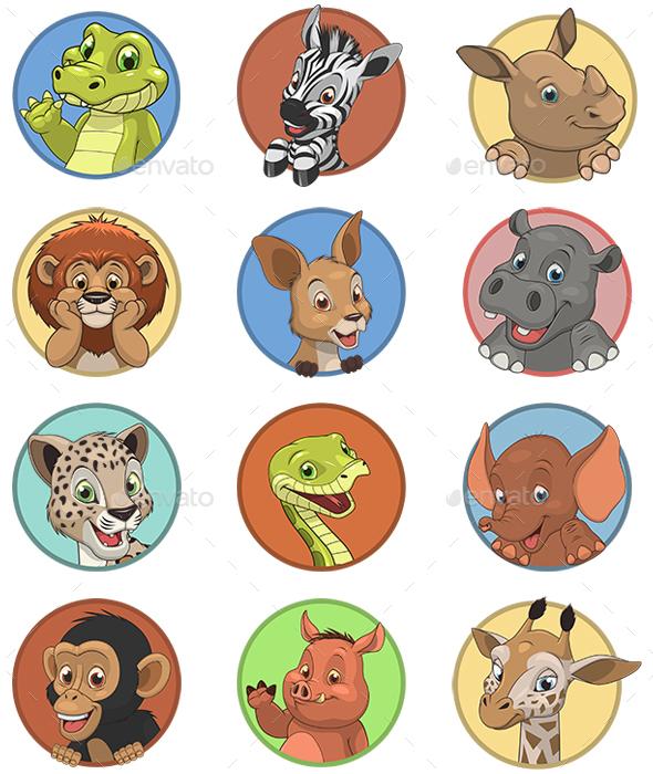 Kids Animals - Animals Characters