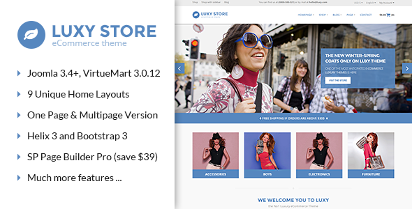 Vina Luxy – Multipurpose VirtueMart Joomla Template