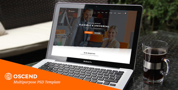 OSCEND - Creative Agency  HTML Template