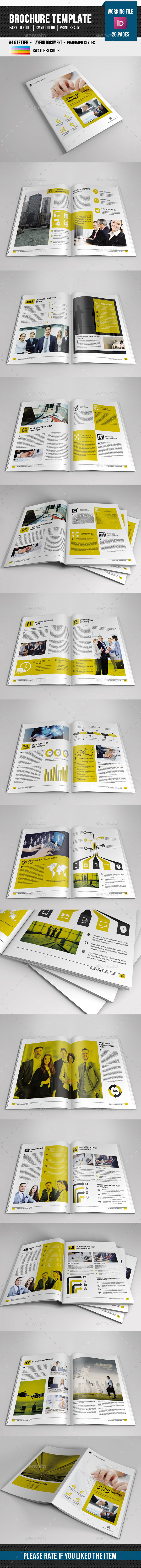 Corporate Indesign Brochure-V338 - Catalogs Brochures