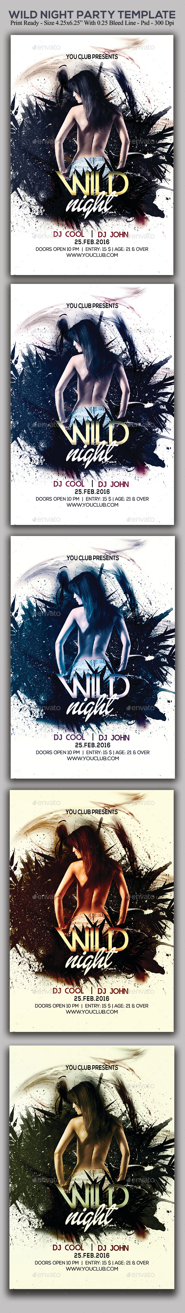 Wild Night Party - Clubs & Parties Events