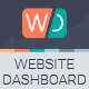 Website Dashboard Presentation Template - GraphicRiver Item for Sale