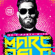 Electro House Artist Flyer v12 - GraphicRiver Item for Sale