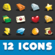 Simulation Game - Resources Icon Set - GraphicRiver Item for Sale