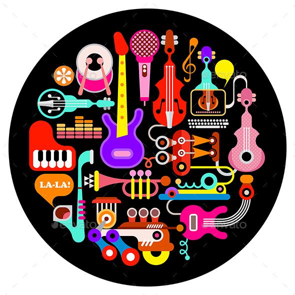 Musical Instruments - Miscellaneous Vectors