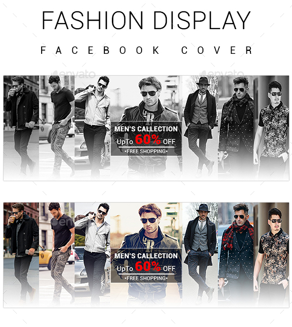 Fashion Display Facebook Cover - Facebook Timeline Covers Social Media