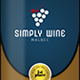 Simple Wine Label Templates 1 - GraphicRiver Item for Sale