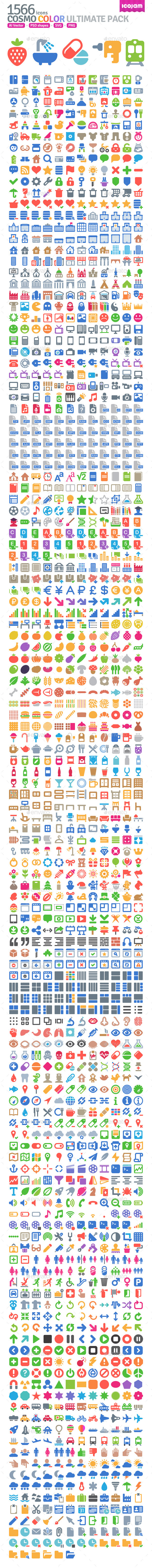 1566 Cosmo Color Icons - Icons
