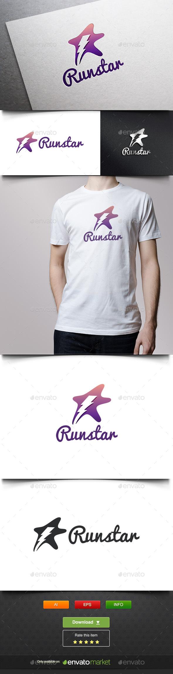 Runstar - Symbols Logo Templates