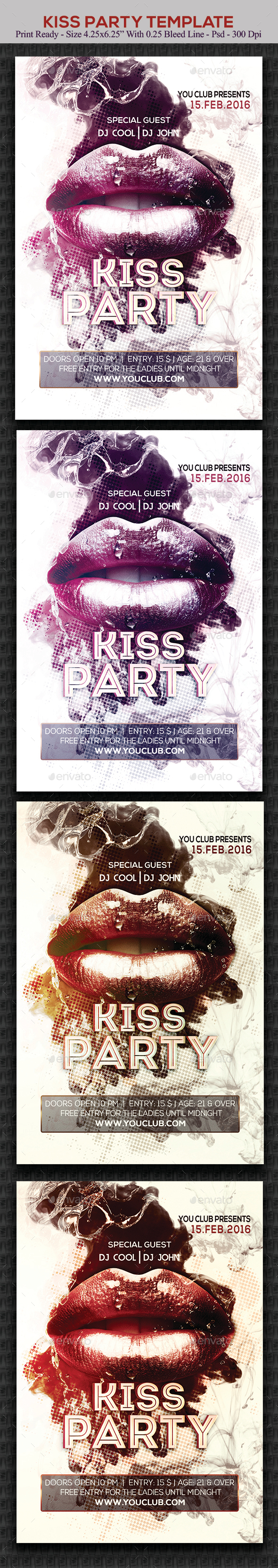 Kiss Party - Clubs & Parties Events