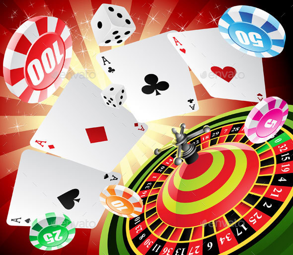 Casino and Roulette - Miscellaneous Vectors