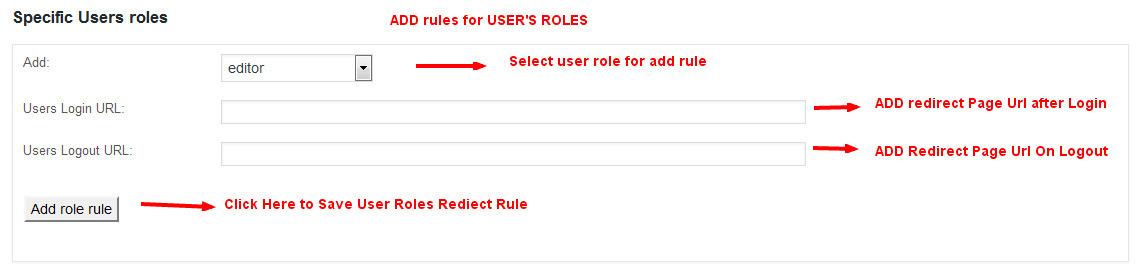 Wordpress Users Login/Logout Redirect