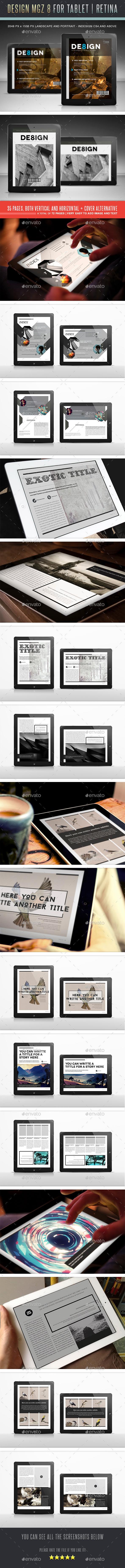 Design Magazine 8 Digital Template - Digital Magazines ePublishing