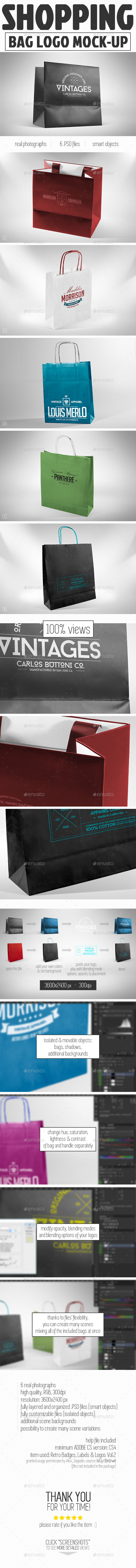 Bag Mockup - Miscellaneous Packaging