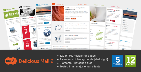 Delicious Mail 2 - Email Templates Marketing