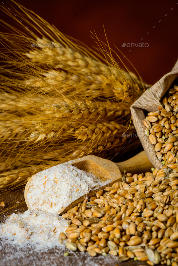 Baking Ingredients - Stock Photo - Images