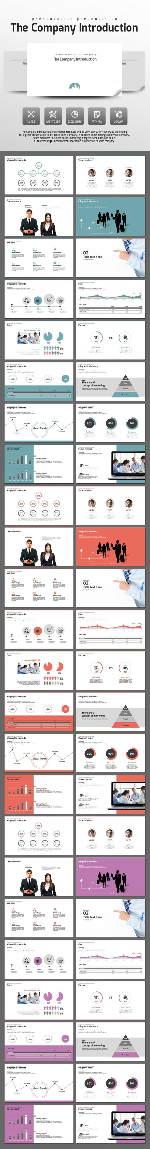 The Company Introduction - PowerPoint Templates Presentation Templates