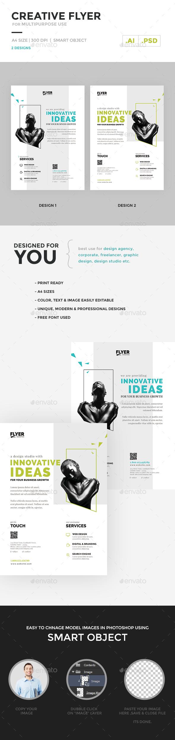 Creative / Corporate Flyer Multipurpose - Corporate Flyers