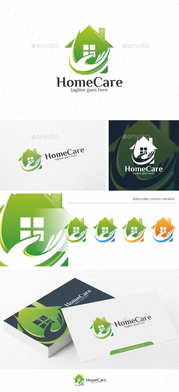 Home Care - Logo Template - Buildings Logo Templates