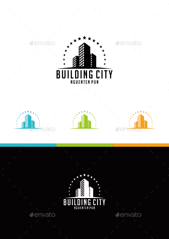 BUILDING CITY - Logo Templates